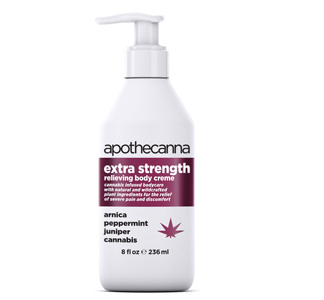 Apothecanna Extra Strength Relieving Body Creme