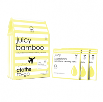 juicy bamboo cloths to-go