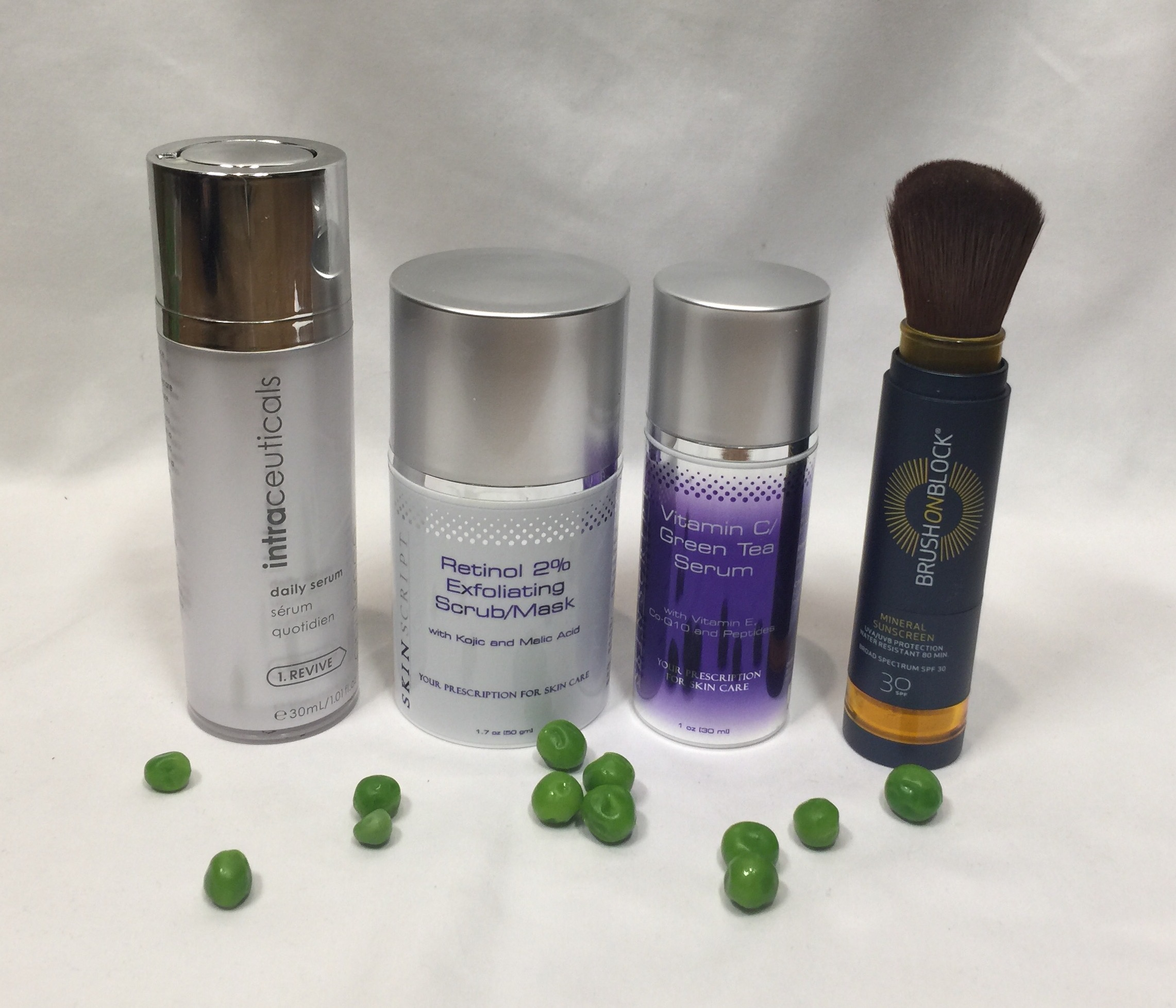 PEAS Skincare Regimen for Sun Damage